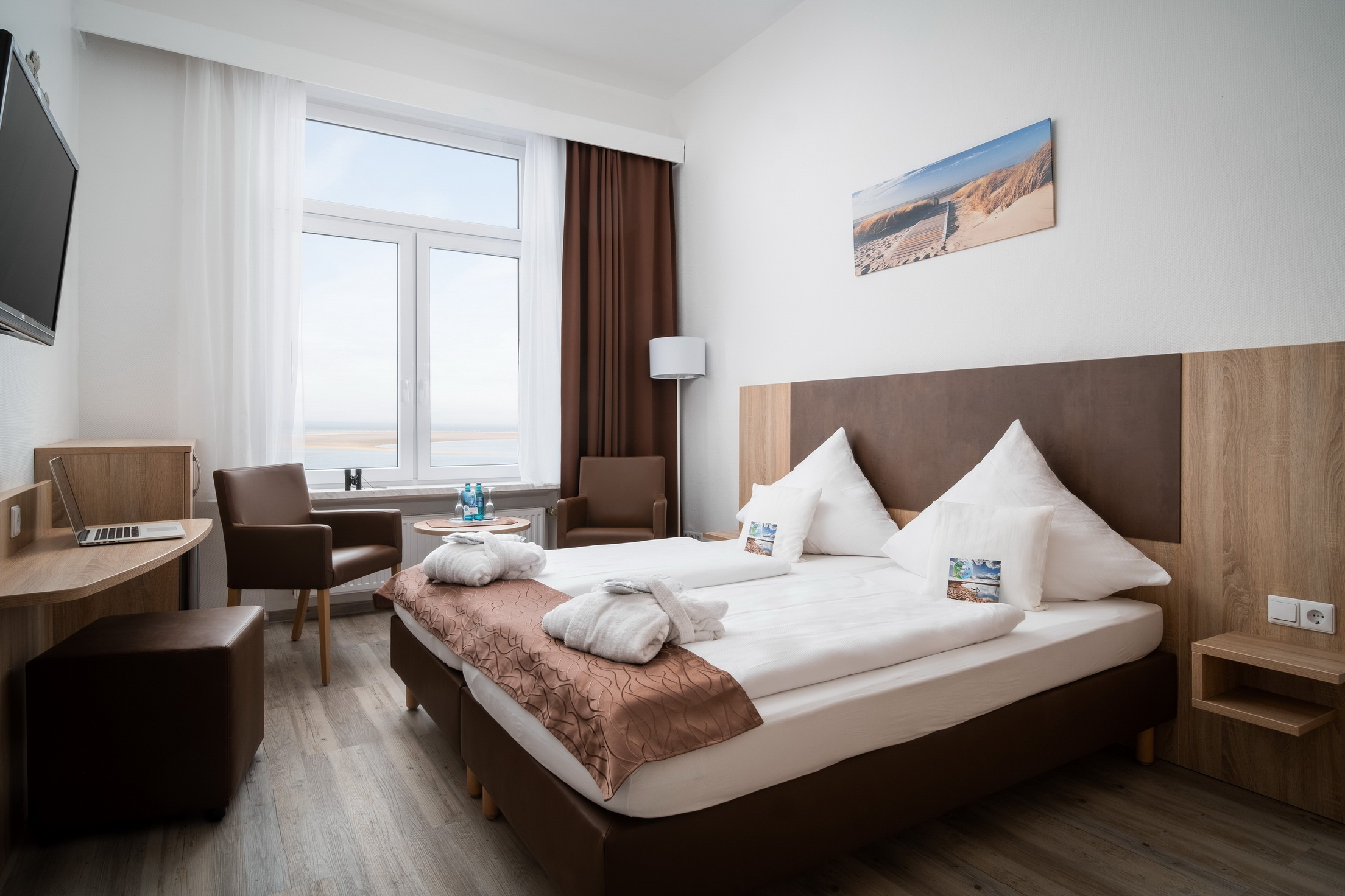 Double room small seaside